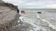 Belgisch gezin verrast door hoogtij in buurt van Calais