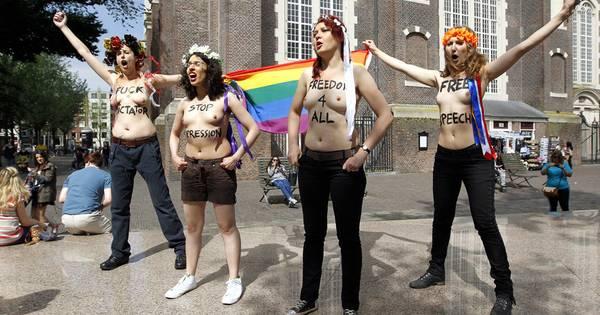 femen protest louvre - photo #13