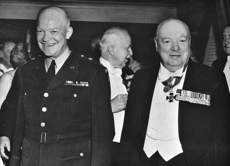 Toen hij in 1951 opnieuw premier werd, was Winston Churchill fysiek eigenlijk al te zwak om het land te leiden. Beeld anp