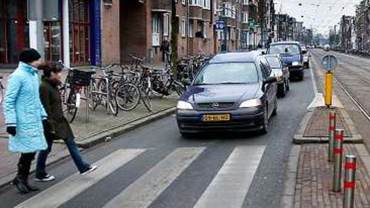 Dit jaar geen autovrije zondag in Amsterdam. (Werry Crone) Beeld
