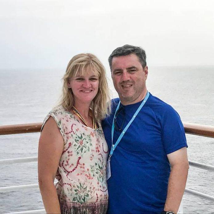 Kristine en Anthony Langford uit Sydney