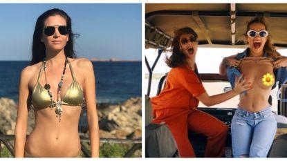 SHOWBITS. Astrid showt haar bikini body en Rita Ora flasht haar boezem