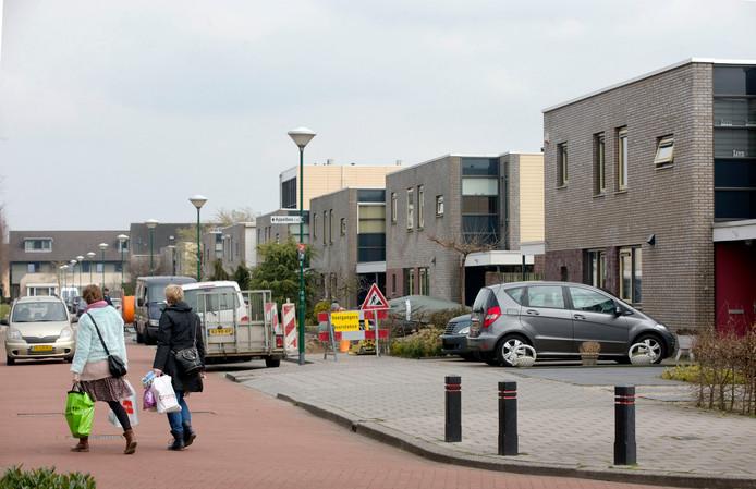 In de wijk Petenbos werd enige tijd geleden glasvezel aangelegd, maar de kabel stopte bij de gemeentegrens met Rhenen. Die loopt dwars door de wijk.