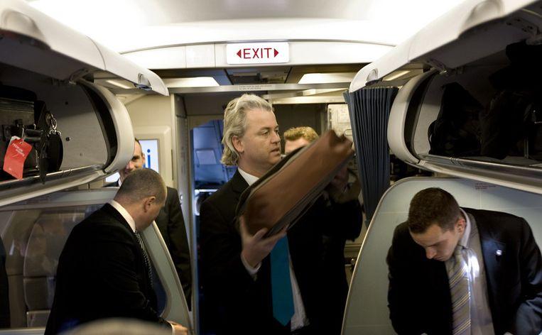 Ook liberalen spreken schande van de manier waarop Groot-Brittannië Wilders heeft behandeld. Foto ANP Beeld