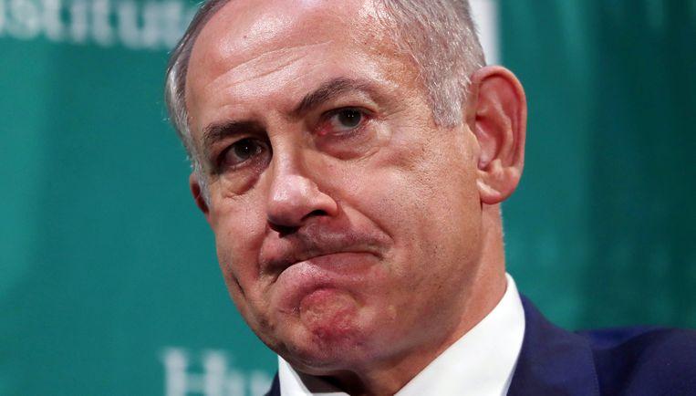 De Israëlische premier Benjamin Netanyahu. Beeld reuters