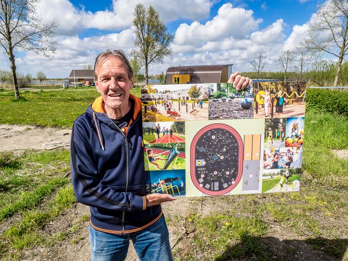 Jasper Harteveld, initiator van beweegpark Noord Aa Zoetermeer.
