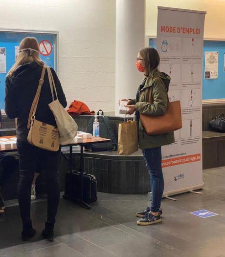 L'Université de Liège lance une campagne de tests salivaires