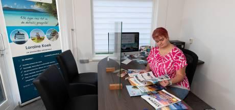 Zelfstandig reisadviseur Loraine uit IJsselmuiden blijft positief: 'De wereld wordt echt wel weer begaanbaar'