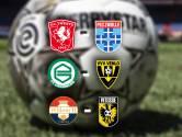Multilive | Volg hier de duels van Twente-PEC, Groningen-VVV en Willem II-Vitesse