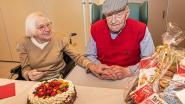 Urbain Claerbout (103) is oudste inwoner van Moorslede, jeugdvriendin (102) viert mee