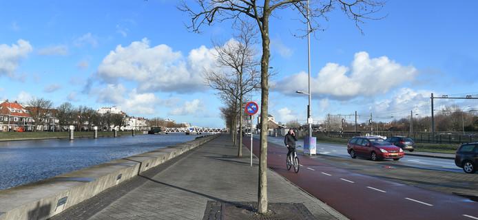 De Kanaalweg en het Stationsplein in Middelburg moeten veel groener worden, door de aanleg van een bredere strook met meer bomen en beplanting dan er nu is.