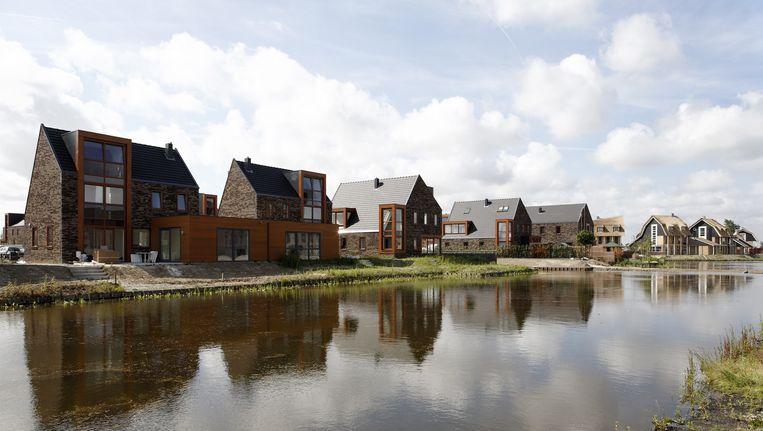 Vinex-architectuur in Hoofddorp Beeld Theo Baart