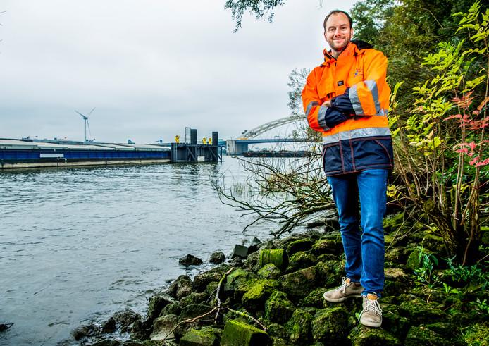 Pelger de Jong (31) heeft het roer van Rederij de Jong met succes omgegooid.