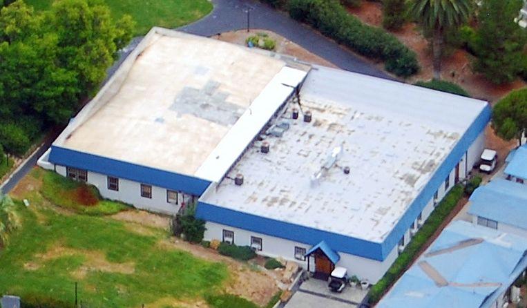 'The Hole', Scientology's vermeende strafhok in Californië voor uit de gratie gevallen prominenten. Beeld Sinar Parman / Wikimedia