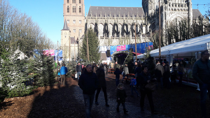 Winterparadijs op de Parade in Den Bosch.
