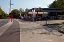 Het tankstation waar Ilias voor het laatst is gezien.