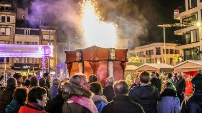 VIDEO. Vuurwerk opent Winter in Kortrijk