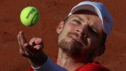 LIVE SET PER SET. David Goffin ontmoet Italiaans toptalent in eerste ronde Roland Garros
