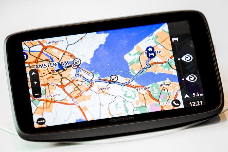 Een navigatiesysteem van TomTom NV. Beeld anp