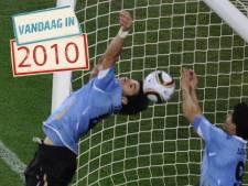 Hoe Suárez de training met Huntelaar in de praktijk bracht
