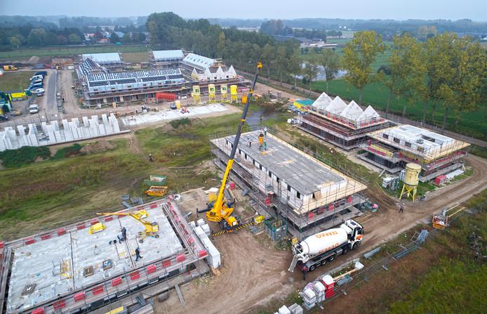 Niewbouw van woningen Veghels Buiten (Wijk De Tuinen van Veghels Buiten) tussen Veghel en Erp.