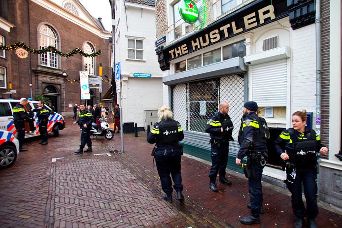 The Hustler moest dicht vanwege drugshandel.