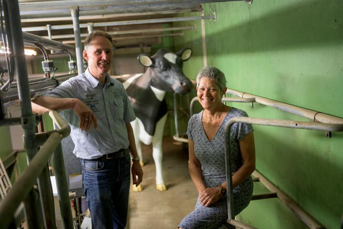 Yolanda del Prado en Henk Wesseldijk van de escaperoom Hof te Langelo.