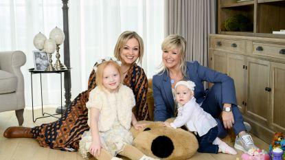 """Collega's en vriendinnen Laura Lynn & Lindsay  worden constant met elkaar vergeleken: """"Onze dochtertjes zien elkaar als zussen"""""""