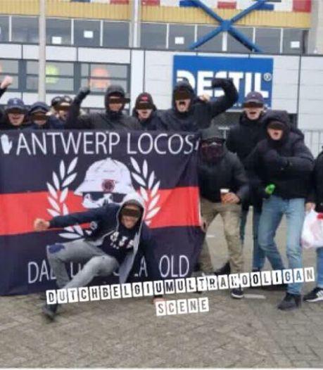 Verboden Nederlandse motorbende dringt door in harde kern Antwerp en wilde ticketverkoop overnemen
