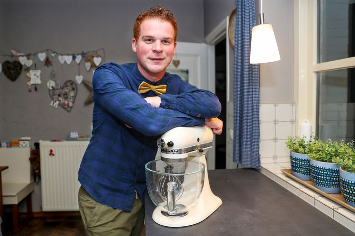 *Cas Wolters* deelnemer Heel Holland bakt,