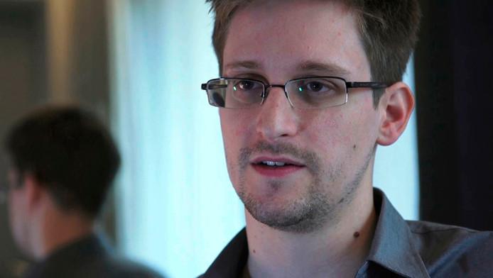 Edward Snowden, de klokkenluider van het PRISM-schandaal.