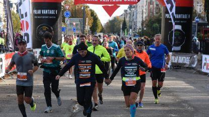 Brussels Marathon verwelkomt 2.300 lopers in Jubelpark
