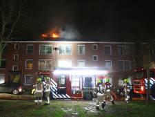 Nieuwjaarsbrand Vlaardingen ontstaan door vuurwerk in de dakgoot