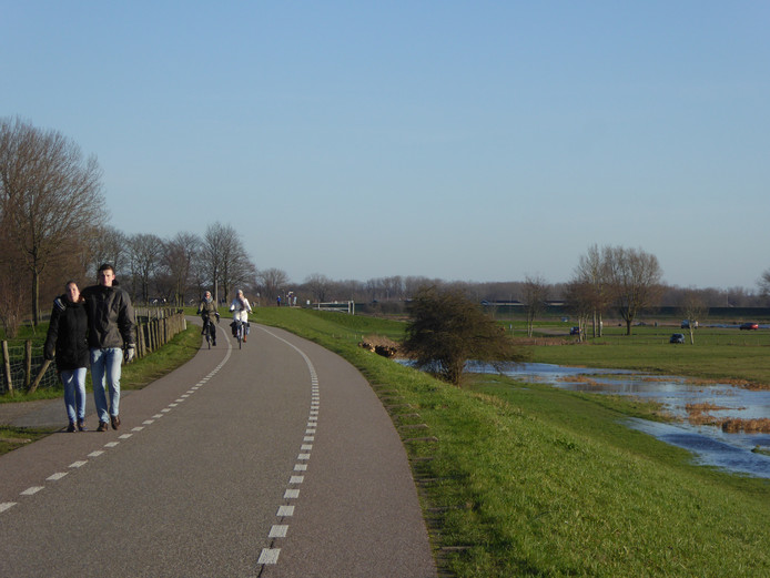 De Lekdijk Oost bij Jaarsveld.