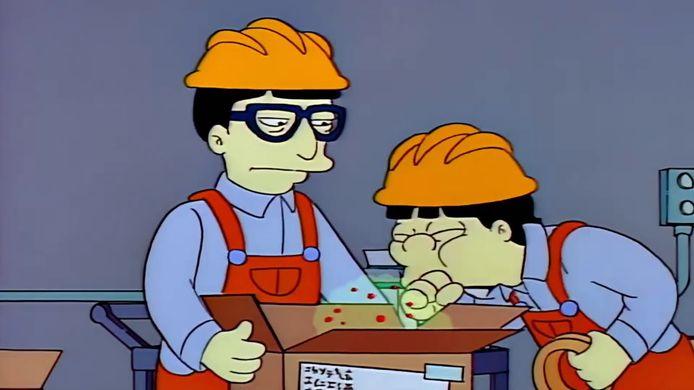 'The Simpsons' voorspelde corona.