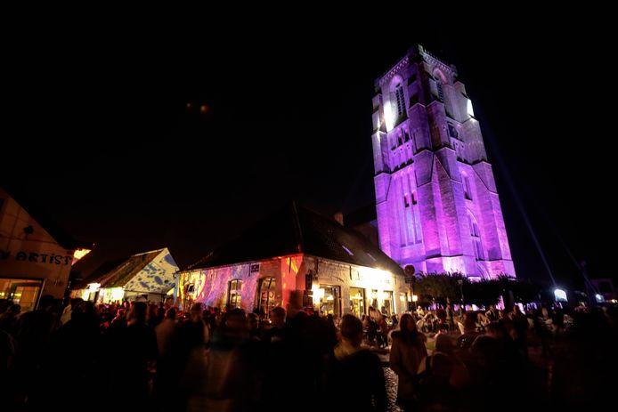 Het Lichtfeest zorgt elk jaar voor heel wat sfeer in Lissewege.
