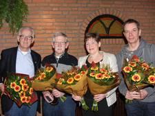 Huldiging jubilarissen 'Lieshoutse Wielrenners'