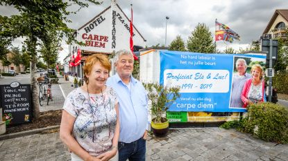 """Luc (61) en Els (60) nemen deze maand afscheid van hotel-restaurant Carpe Diem: """"Na 28 jaar tijd voor iets anders"""""""