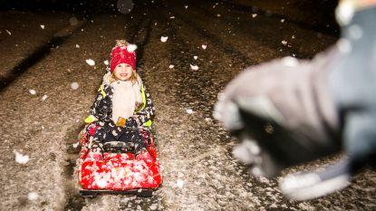 Komend weekend sneeuw in de Ardennen, mogelijk ook in Vlaanderen opnieuw sneeuwpret