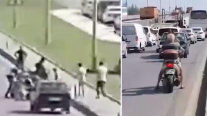Dronken Belg met scooter zet verkeer op stelten tijdens vakantie in Turkije