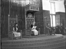 Prinsjesdag 1945 schitterde in echte soberheid