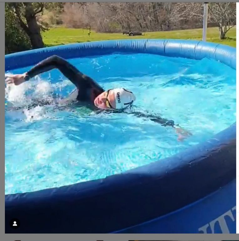 André Cats, technische directeur van de zwembond, betreurt het dat hij een zojuist belegd alternatief trainingskamp voor de nationale zwemploeg in Drachten, gehaast heeft afgebroken.  Beeld Tom Zaunbrecher
