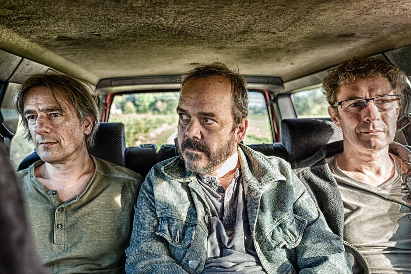 Sleepstorm: Michel Cerrone, Martin Jan van Dalen en Bas van de Wiel (vlnr).