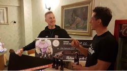 Bier voor Bak: Deen finishte vandaag als 'zwaarste' renner uit peloton en krijgt 100 flessen cadeau