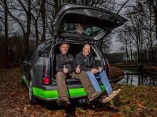 Broers uit Heino gaan bibberend naar Hoge Noorden voor strijd tegen hersentumoren