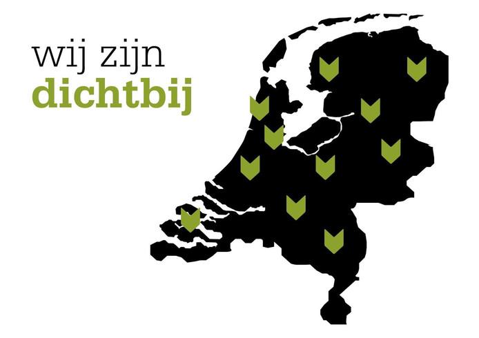 Het logo van Dichtbij.nl