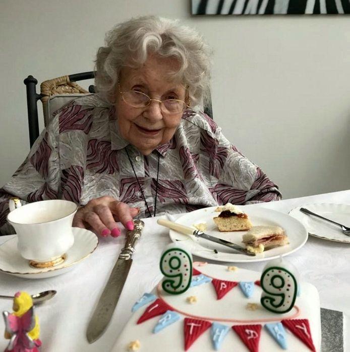 Rita Reynolds (99) overleefde het coronavirus