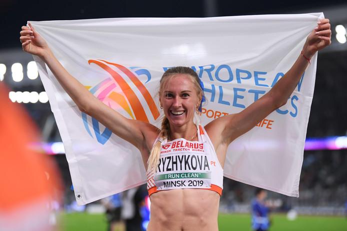 Anna Ryzhykova uit Oekraïne.