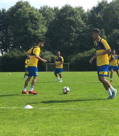 Wesley Sneijder op trainingskamp in Mill