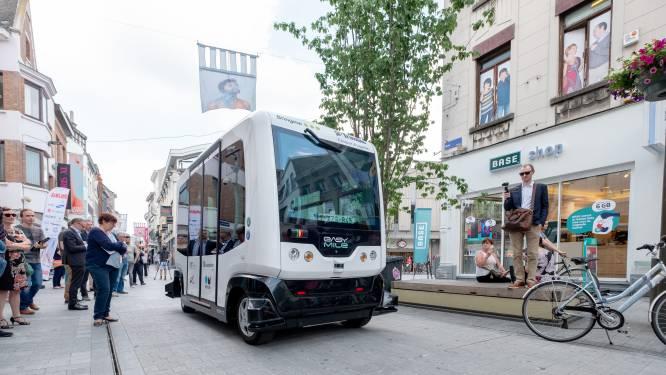 Voorlopig geen autonoom vervoer in Mechelen: partners zetten project on hold